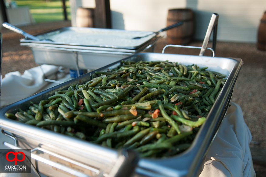 Green Beans from Bagatelle's.