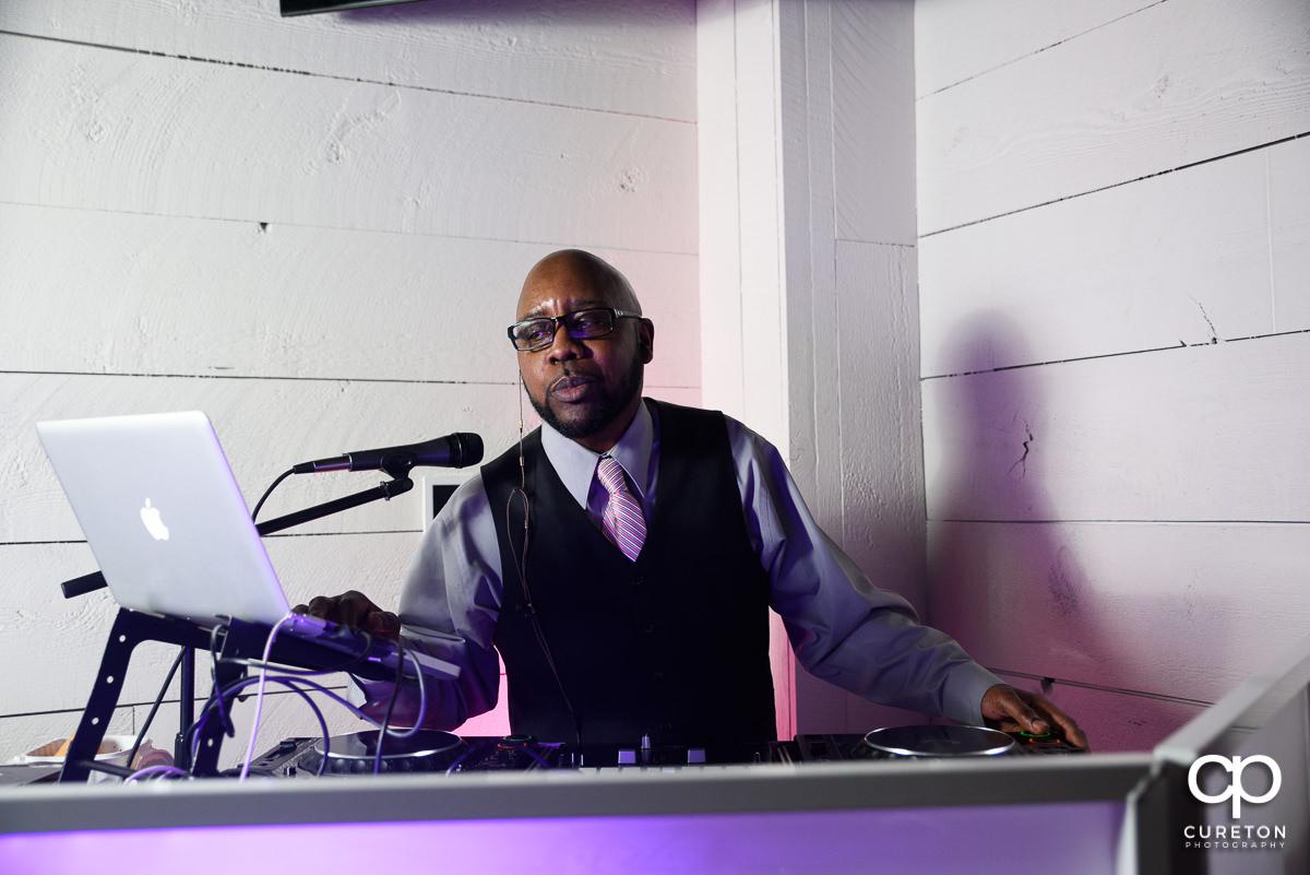 The wedding DJ.