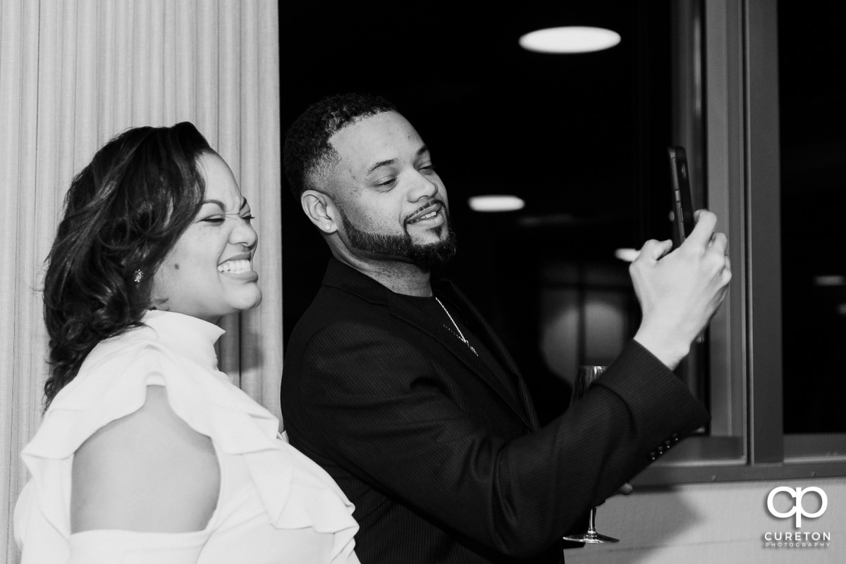 Wedding selfie.