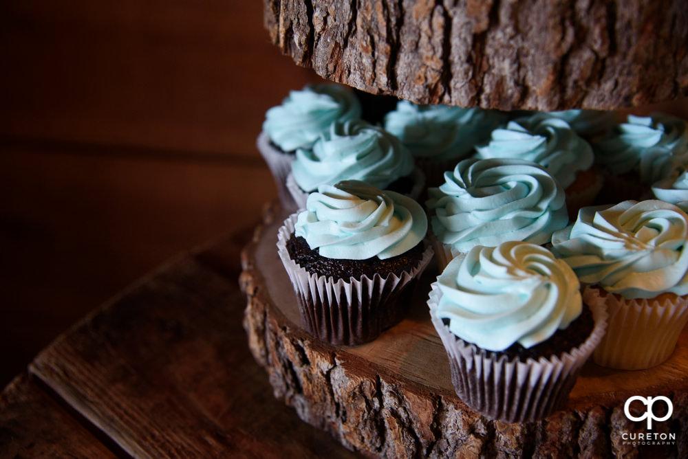 Wedding cupcake.