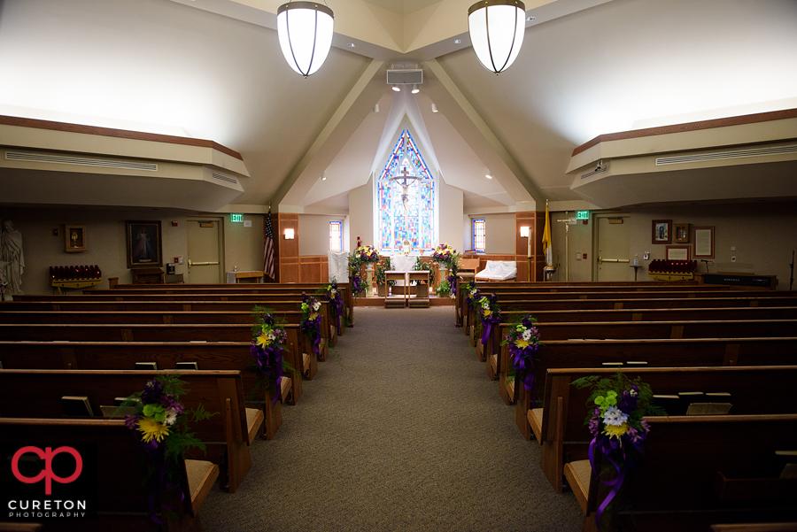 St Matthews Charlotte >> St. Matthew Catholic Church Charlotte NC Wedding - Alison + Jude - Cureton Photography Blog