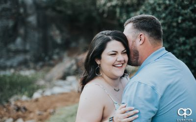 Cleveland Park and Rock Quarry Garden Engagement – Elise + Tyler