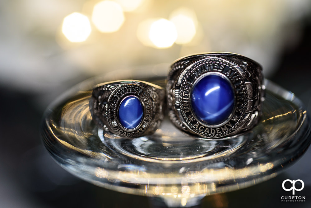 Air Force Academy rings.