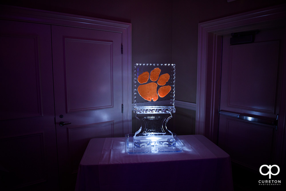 Clemson Ice Sculpture.