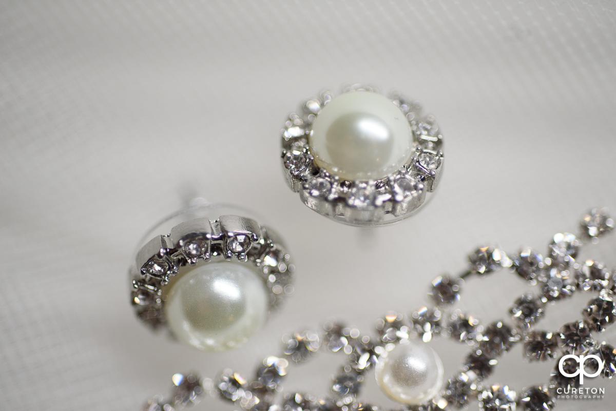 Bridal jewelry.