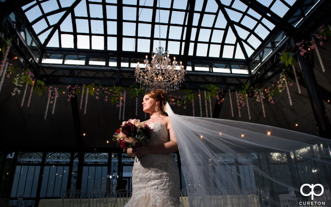 Bridal at Edinburgh West Wedding Venue in Taylors, SC – Whitney