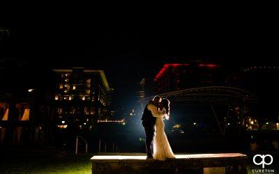 Falls Park Wedding Ceremony – Larkin's Reception – Dan + Sila