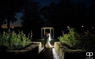 Intimate Furman Rose Garden Wedding – Rachel and Josh