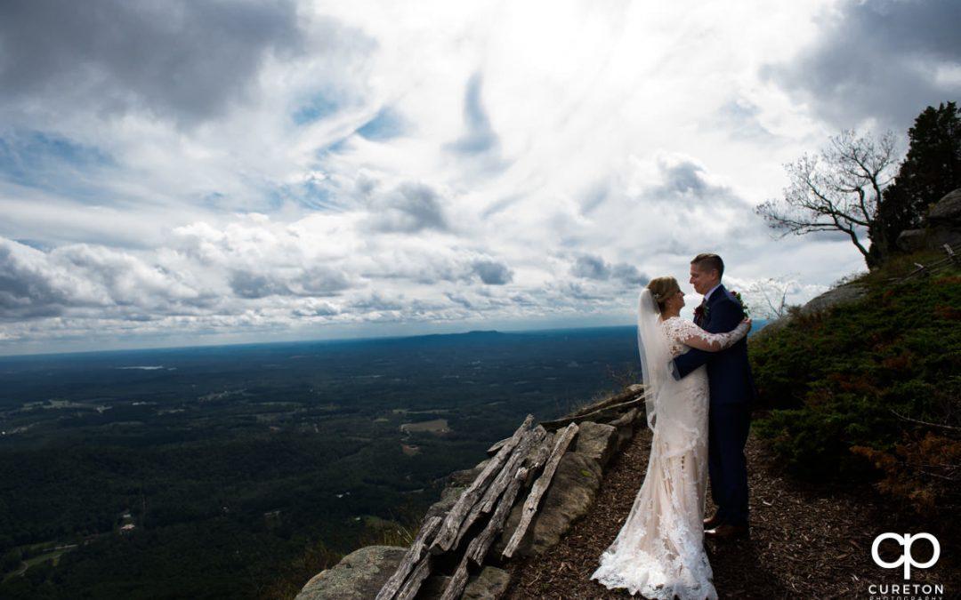 Cliffs at Glassy Chapel Wedding Ceremony   Larkin's Cabaret Room Reception – Karissa + Markian