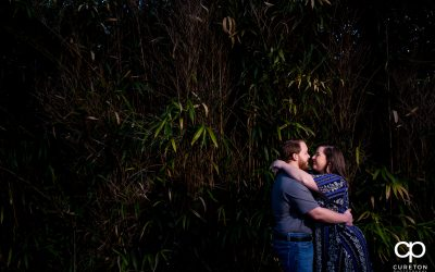 Greenville,SC Park Engagement Session – Katelyn + Trent