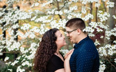 Spring Engagement Session in Greenville,SC – Hannah + Bryce