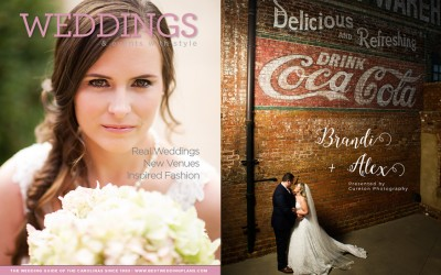 Wedding Magazine Cover – Greenville SC Photographer