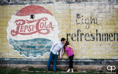 Greer City Park Engagement Session – Joanna + Adrian