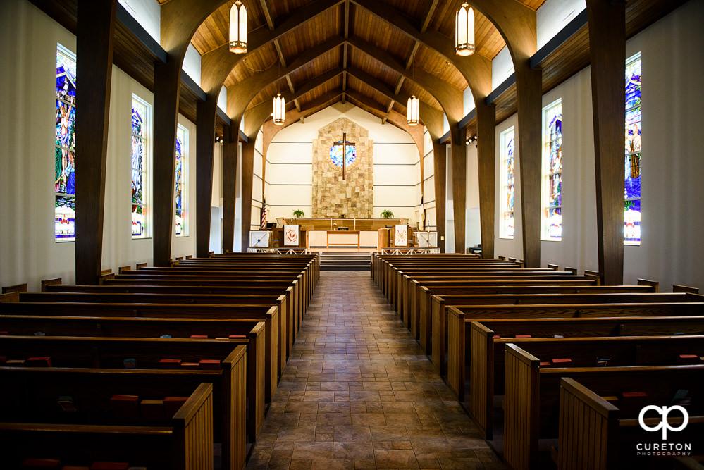 Mauldin United Methodist church sanctuary