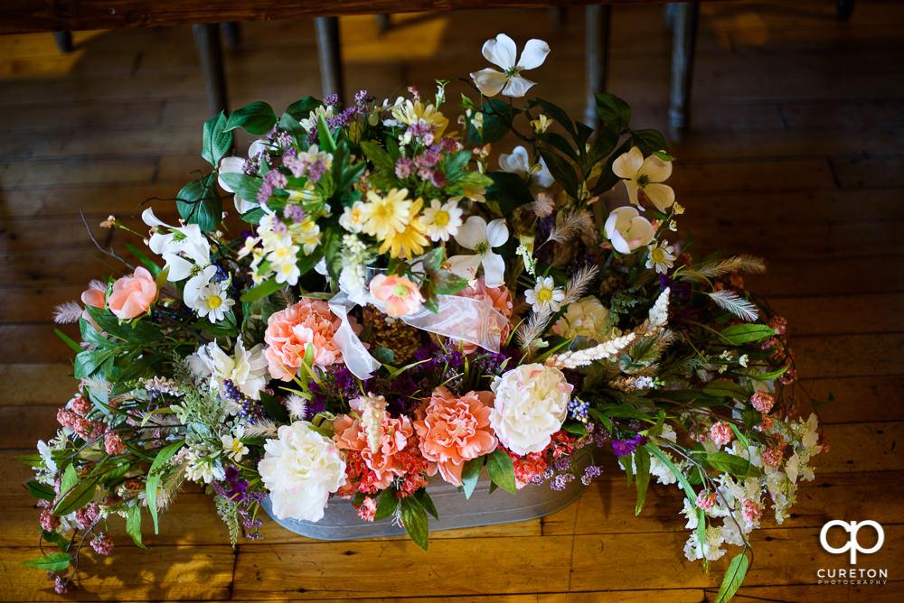 Wedding florals.