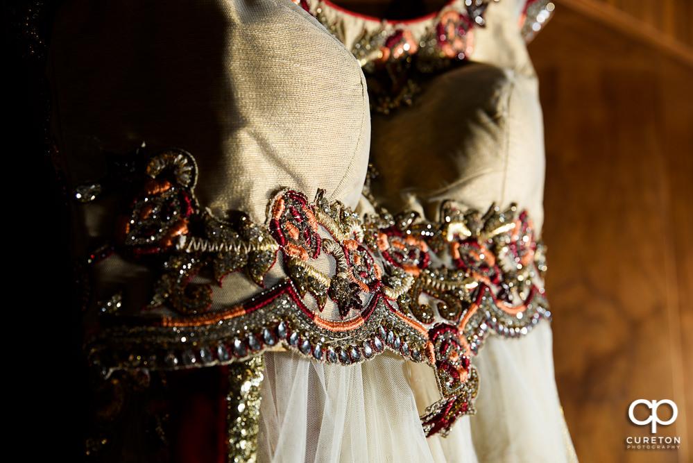 Indian wedding dress.