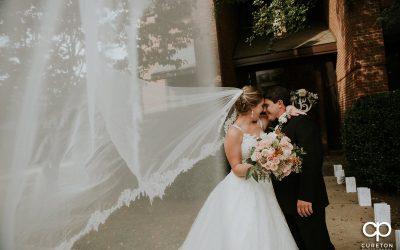 St. Christopher's Spartanburg Wedding – Indigo Hall Reception – Meredith + Adam
