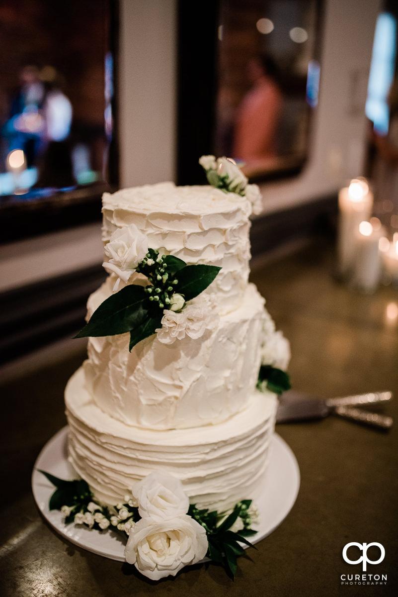 Wedding cake details.