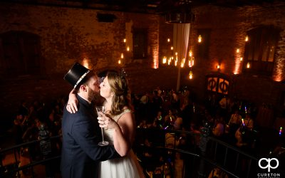 New Year's Eve Wedding at The Old Cigar Warehouse in Greenville,SC – Kristina and Blake
