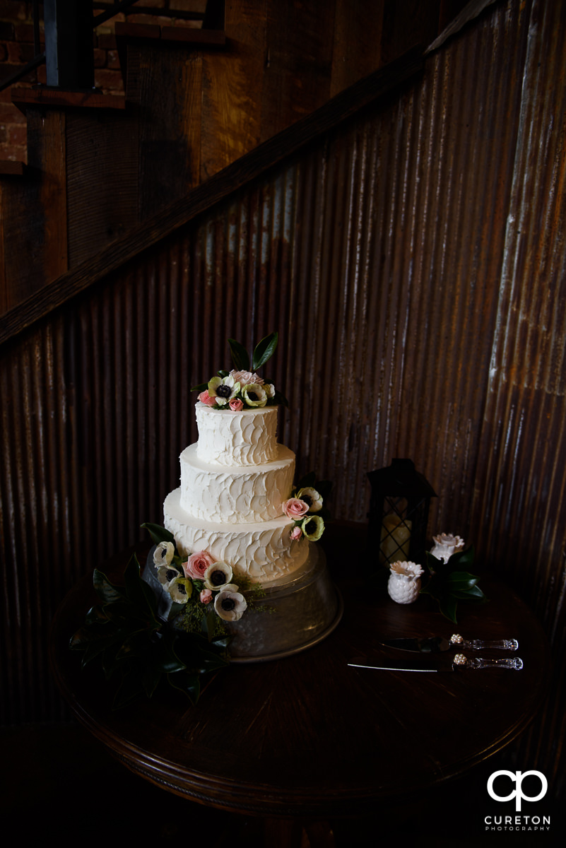 Wedding cake by the Bakery off Augusta.