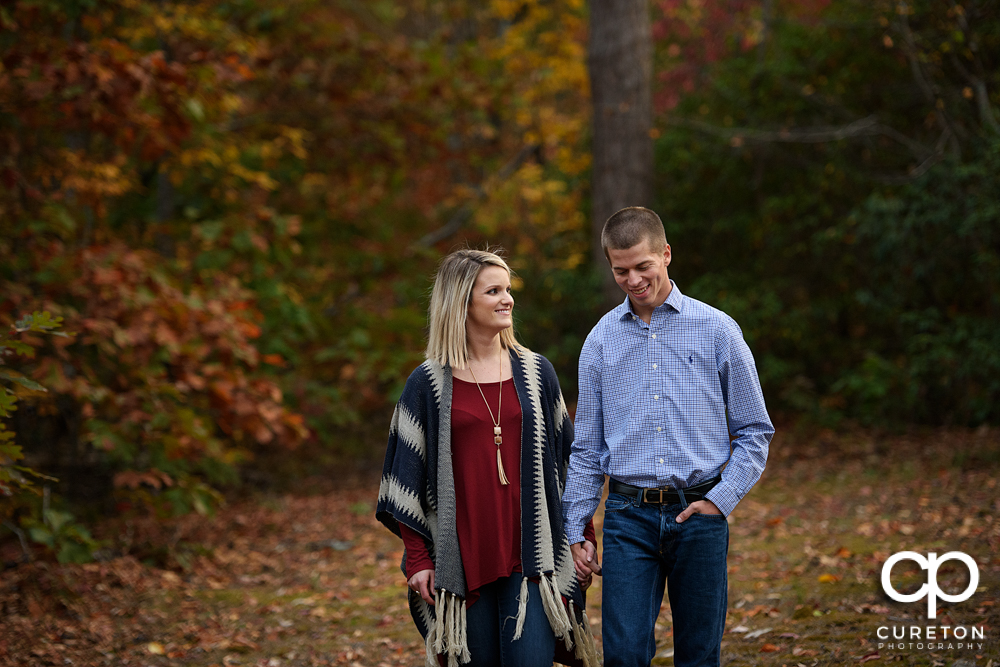 Paris Mountain Engagement Session – Mindy + Sam – Greenville,SC