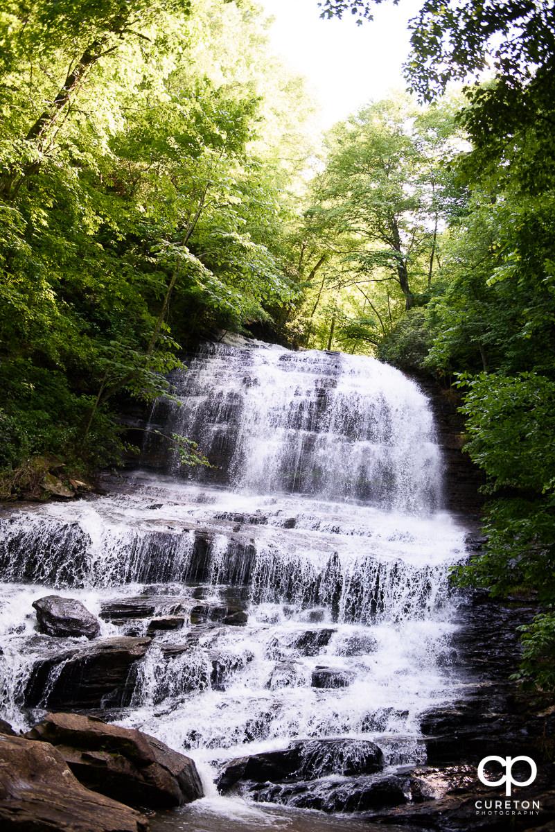 Pearson's Falls in Saluda NC.