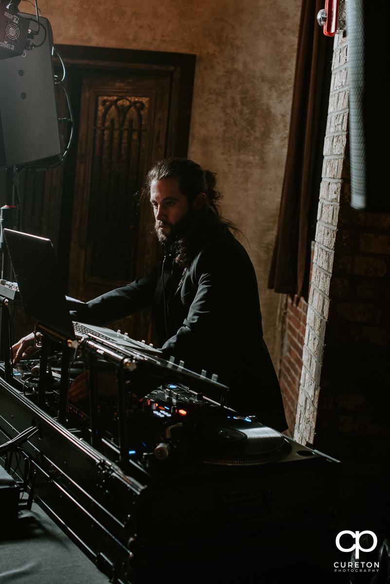 DJ Craz-e Crane.
