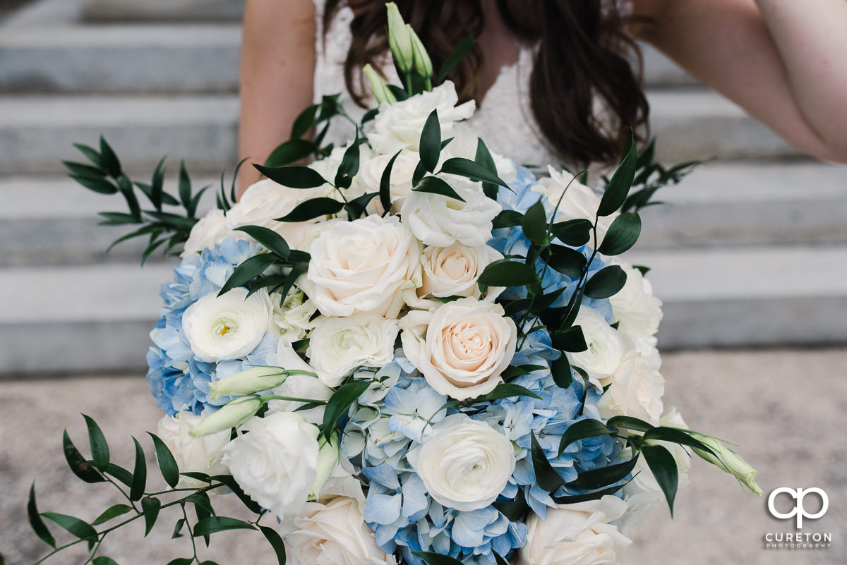 Bride's bouquet.