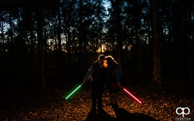 Star Wars Engagement Session – Lauren + Daniel