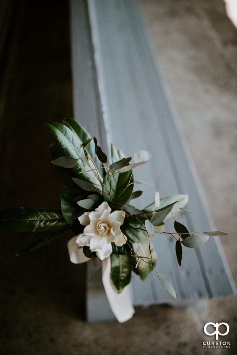 Wedding florals from Dahlia.