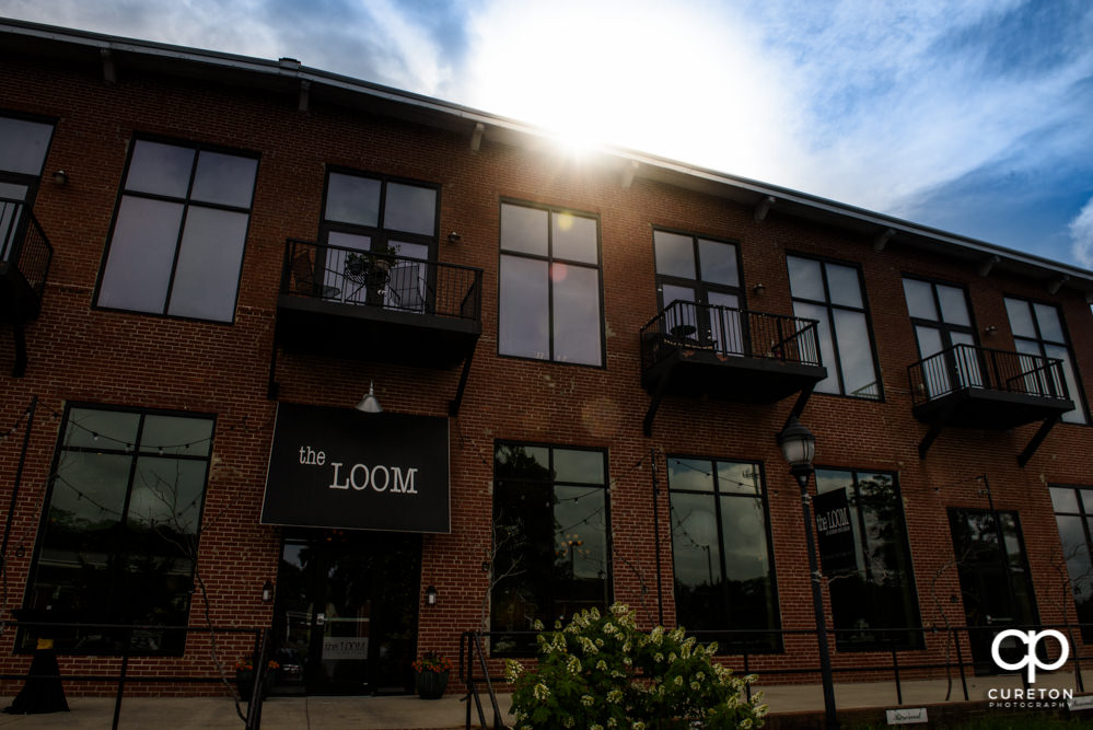 The Loom at Cotton Mill Place wedding venue in Simpsonville ,SC