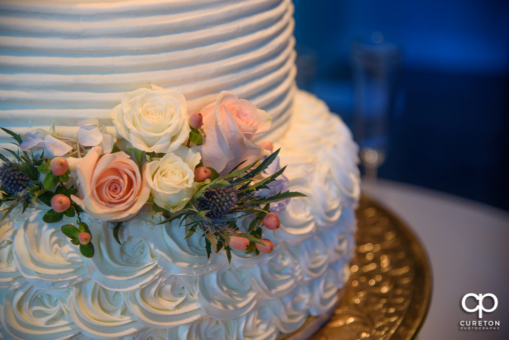 Wedding cake by Kathy and Co.