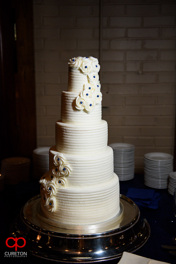 Beautiful cake by Kathy an Co.