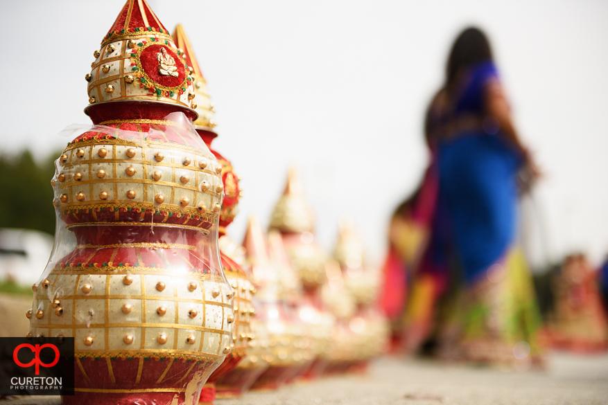 Indian pots.