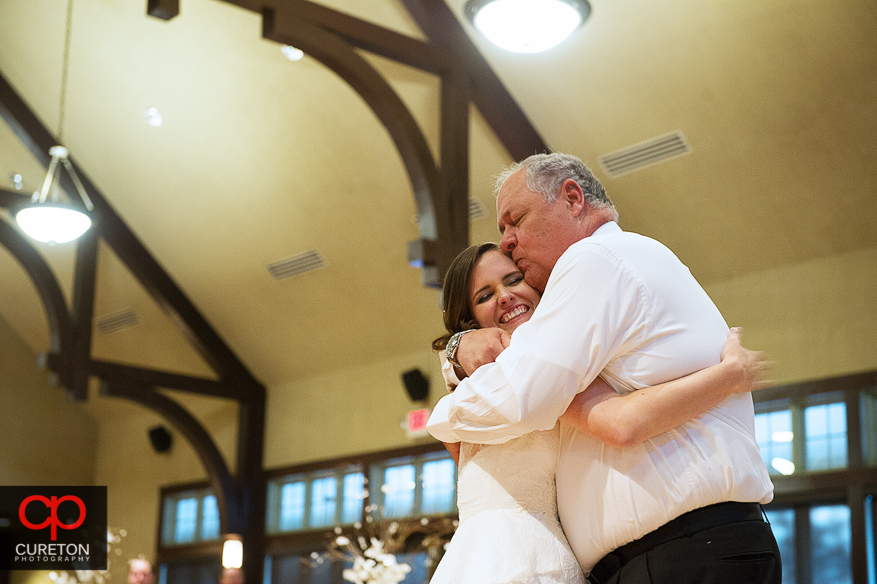 Bride and her dad dancing at Cleveland Park.