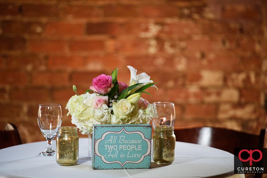 Wedding flowers by Greg Foster.