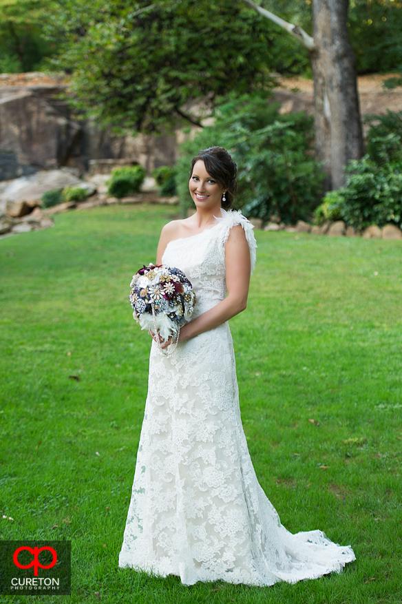 Bridal session in Greenville,SC.