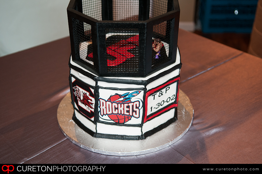 Patrick's awesome groom's cake.