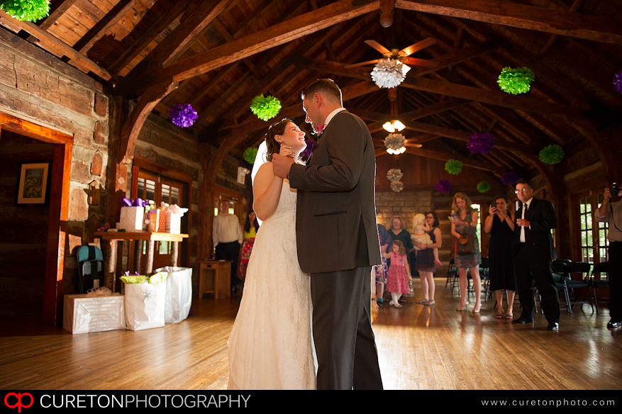 First Dance at Table Rock Lodge.
