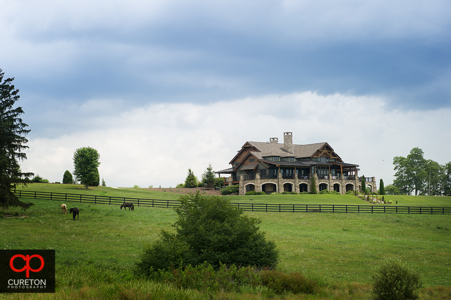 The Lodge at Grand Highlands at Bearwallow Mountain.
