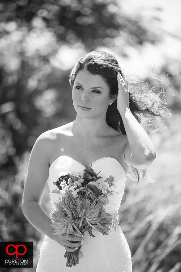 High fashion bridal portrait taken at Grand Highlands.