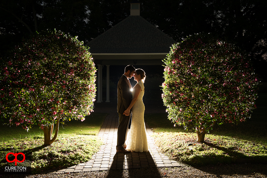 A couple after their Lenora's Legacy wedding during the fall season just outside of Greenville,SC.
