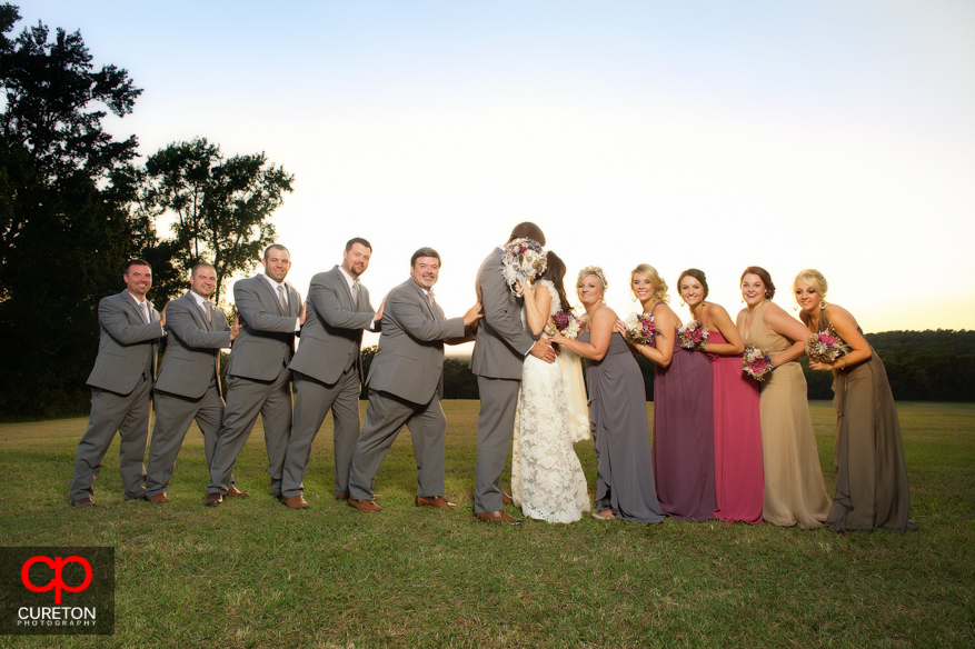 Bridal party after the wedding.