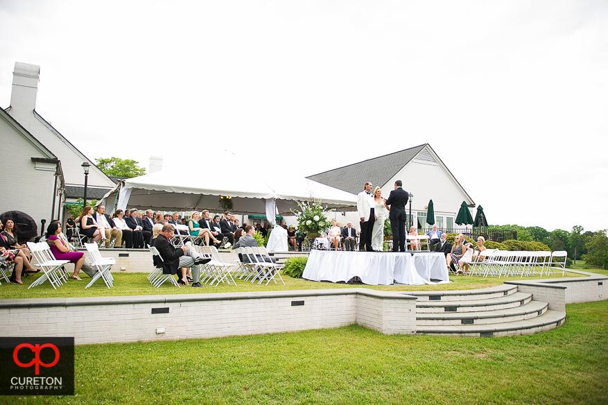 Outdoor wedding in Spartanburg,SC.