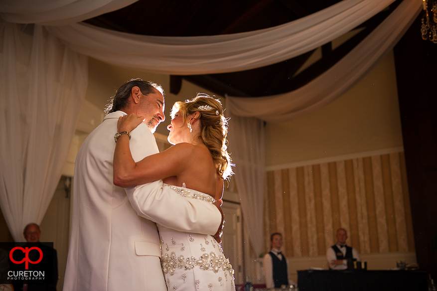 First Dance at the Spartanburg Country Club reception.