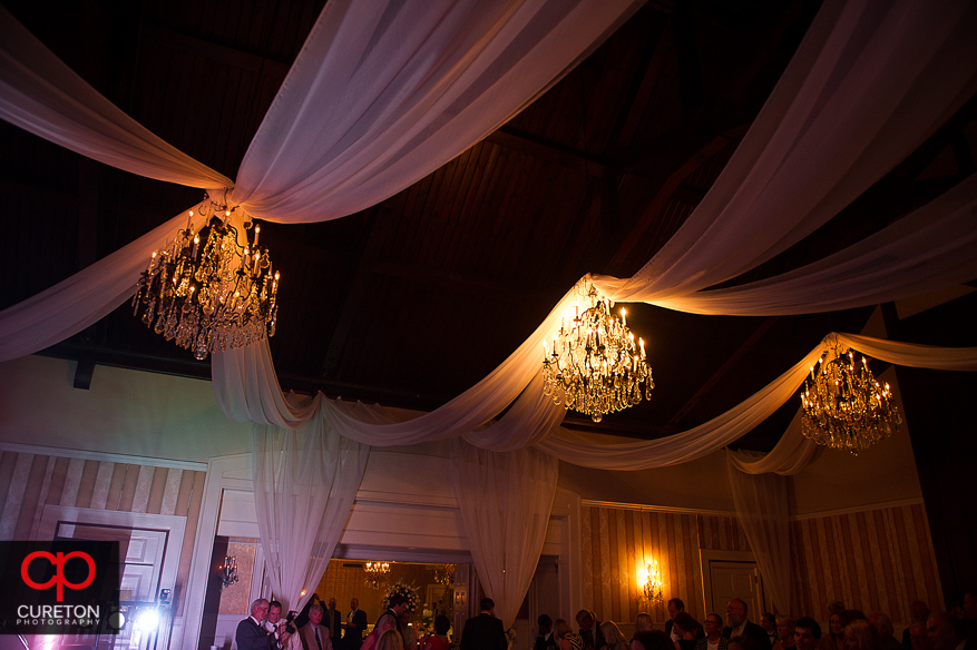 Draping by Berbank Events in Spartanburg.