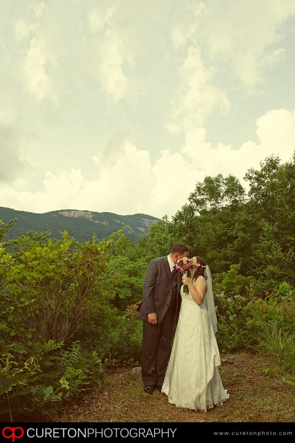 A wedding at Table Rock Lodge in SC.
