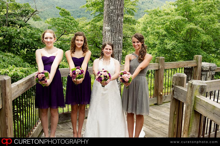Bridesmaids pre wedding.