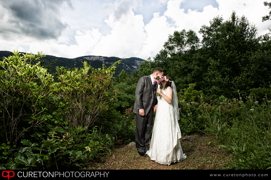A beautiful view of a Table Rock Wedding.