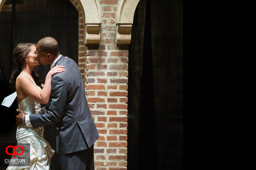 First kiss at Upcountry History Museum.